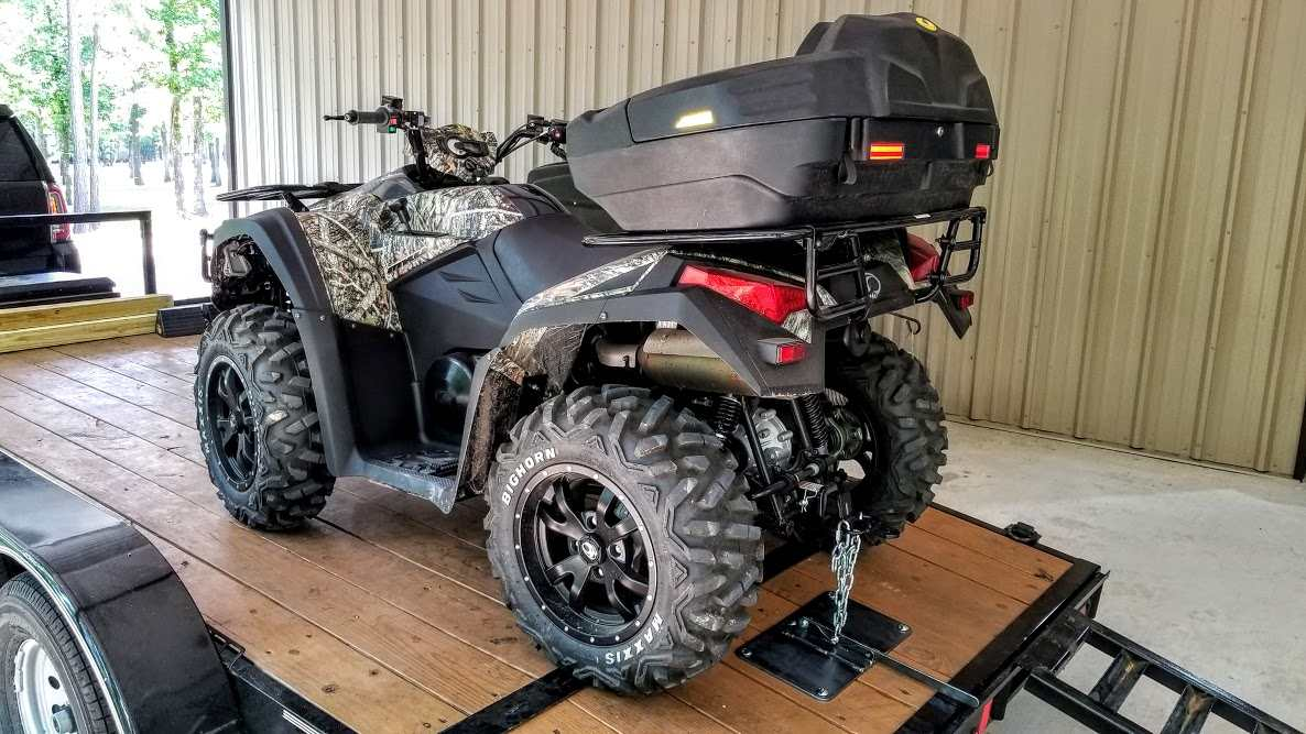 Prototyping a New ATV / UTV Tie Down System for Trailers - Texas