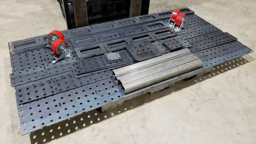 Welding Table Parts